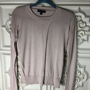 Banana Republic beige silk and cashmere sweater
